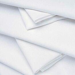 Serviette de table lin blanc 50 x 50 cm