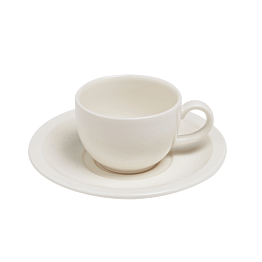 Tasse et sous-tasse à café 18cl Easy