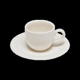 Tasse et sous-tasse à moka 10cl Easy