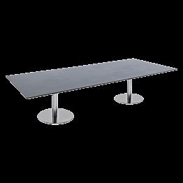 Table basse Brio noire 180 x 75 x H 40 cm