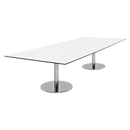 Table basse Brio blanche 180 x 75 x H 40 cm