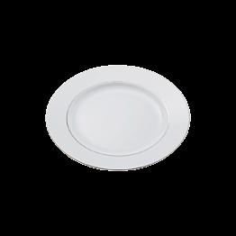 Assiette plate Ø 21cm Silver