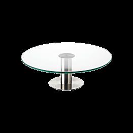 Plat à tarte en verre Ø 30 cm H 10 cm