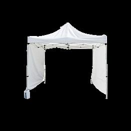 Côté de tente blanc par 3 m