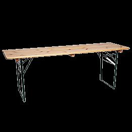 Table en pin 220 x 70 cm