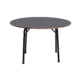 Table ronde Ø 120cm - 6 à 7 places