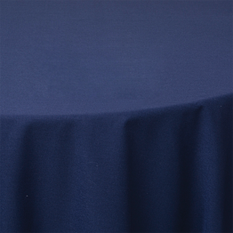 Nappe tube bleu marine pour mange-debout