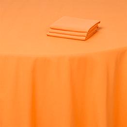 Nappe orange 300 x 300 cm