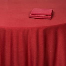 Nappe rouge brique 300 x 300 cm