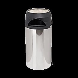 Cendrier poubelle en inox 60L