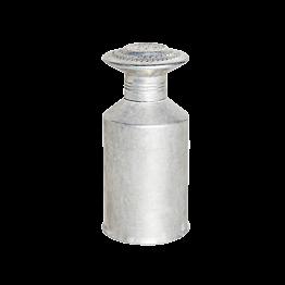 Salière en aluminium