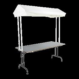 Echoppe avec table 180 x 80 cm
