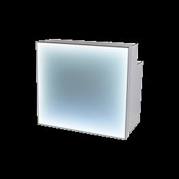 Bar LED Redford pliant 130 x 75 x H 118 cm