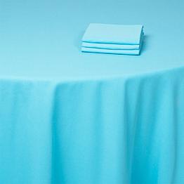 Serviette turquoise 50 x 50 cm