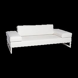 Canapé Happy Hour blanc 205 x 100 x H 53 cm