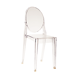 Chaise Victoria Ghost transparente by Philippe Starck - Kartell