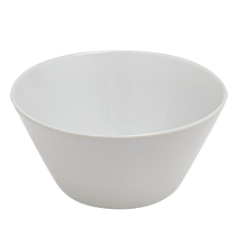 Bol rond blanc Ø 15cm H7,5cm