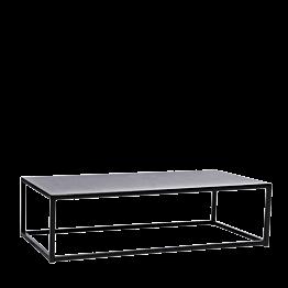 Table basse Linea noire 97 x 60 x H 27 cm