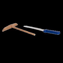 Kit crêpes: spatule & râteau