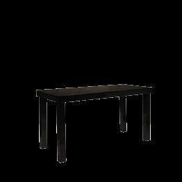 Table haute laquée noire 90 x 200 cm H 106 cm