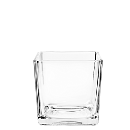 Cube verre 8 x 8 cm 26 cl
