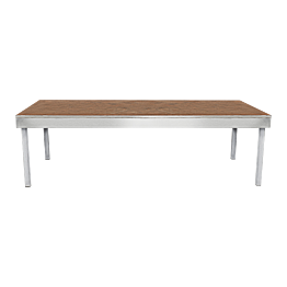 Praticable 2x1 m H 60 cm