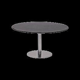 Table basse Brio noire Ø 75 cm H 40 cm