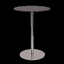 Table haute Brio noire Ø 75cm