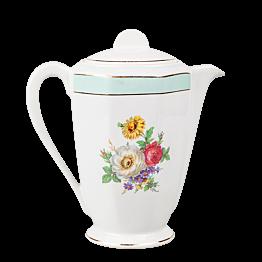 Théière Vintage fleurie