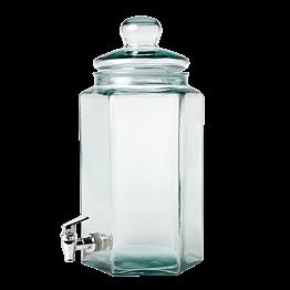 Bonbonne Vintage à robinet 20 x 17,5 cm H 40 cm 6.6 L