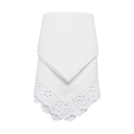 Serviette de table Dentelle 45 x 45 cm