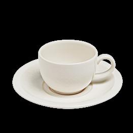 Tasse + sous tasse à thé 22 cl Easy