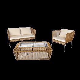 Lounge Rotin terrasse