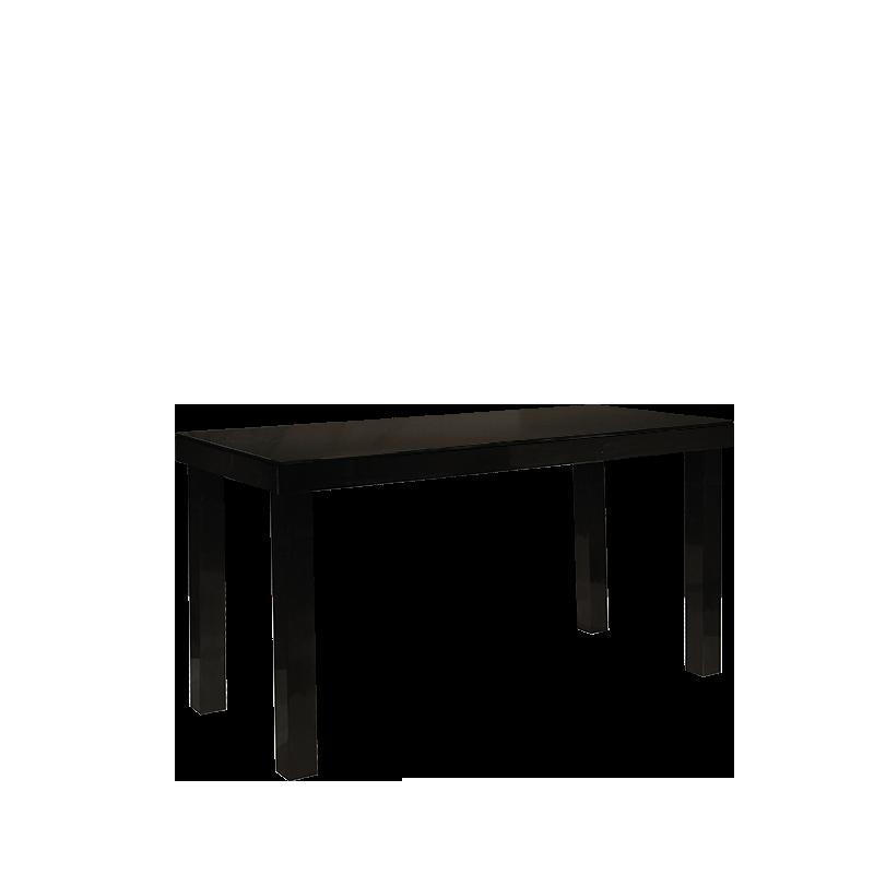 Location Table Laquee Noire 90 X 200 Cm H 110 Cm Options